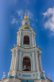 Bell tower of Nikolsky Cathedral — Stok fotoğraf