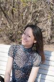 Cheerful girl — Stock Photo