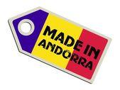 Label Made in Andorra — Stock Vector