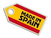 Label Made in Spain — Stock Vector
