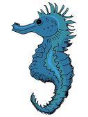 Seahorse — Stock Vector