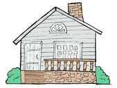 House, vector image — Stock Vector
