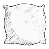 Pillow — Stock Vector