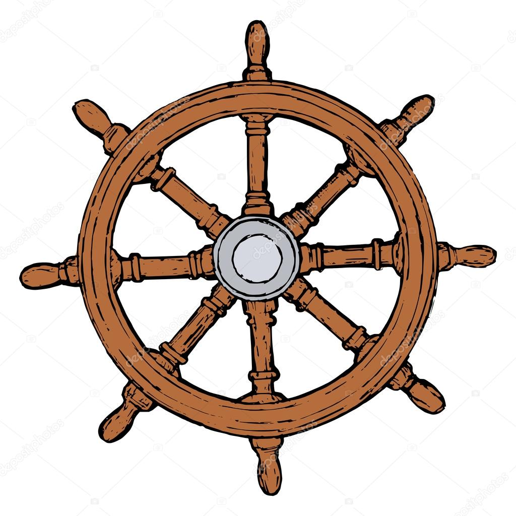 clipart ship steering wheel - photo #47