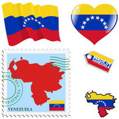 National colours of Venezuela — Stock vektor
