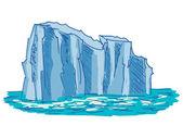 Iceberg — ストックベクタ