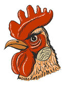 Rooster — Stock Vector