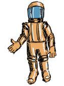 Astronaut — Stock Vector