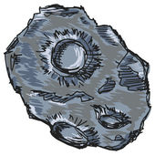 Asteroid — Stock Vector