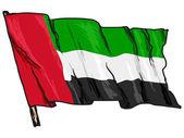 Flag of United Arab Emirates — Stock Vector