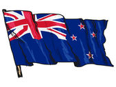 Flag of New Zealand — Stock Vector