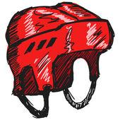 Hockey helm — Stockvektor