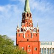 Moscow. Kreml. Troitskaya (Trinity) Tower against the sky. — Stock Photo