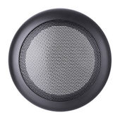 Grid round on a white background — Stock Photo