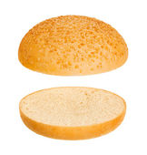 Hamburger bun — Stock Photo