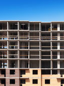 Construction of apartment house. Fragment construction site. — Stock Photo