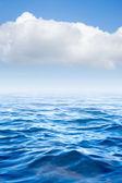 Sea and cloud on sky — Stock Photo
