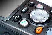 Erweiterte tastatur des telefons mit joystick — Stockfoto