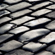 Texture from lines of stone sett — Stock Photo