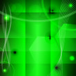 Abstract green background. eps10 — Imagen vectorial