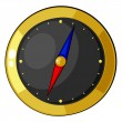 Royalty-Free Stock Vector Image: Cartoon compass. eps10