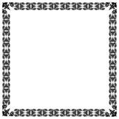 Modernistic black frame. eps10 — Stock Vector