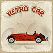 Retro car — Stock Vector