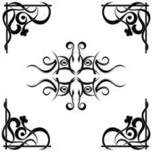 Tribal tattoo pattern — Vettoriale Stock