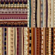 Set of patterns tribal pattern — Stockvektor #22927194