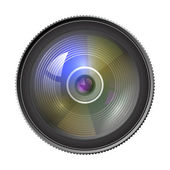 The lens objective — Stock Vector
