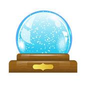 Snow globe — Stock Vector