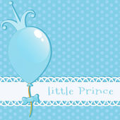 Background Little Prince — Stock Vector