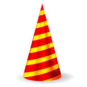 Bright festive party hat — Stock Photo