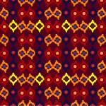 Tribal seamless pattern of rhombuses. Vector illustration — Stock Vector #47866863