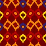 Tribal seamless of rhombuses. Vector illustration — Stock Vector #47866867
