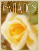 Card or invitation with  floral background. Elegance pattern wit — Vector de stock