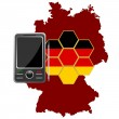 Mobile Communications Germany — Stock Vector #8002733