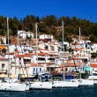 Poros Island, harbour - Stock Photo