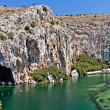 Vouliagmeni   Thermal Lake, Athen, Greece — Stock Photo