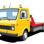Tow truck — Stock Vector #13567846