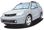 Off-road vehicle — Stock Vector