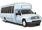 Autobus — Stok Vektör