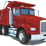 Dump truck — Stock Vector #27647259