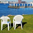 Chairs by the Ocean — Stock Photo #1290645