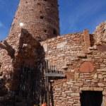 Desert View Watchtower in Grand Canyon Arizona America — Stock Photo #20051213