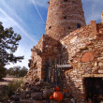 Desert View Watchtower in Grand Canyon Arizona America — Stock Photo #20051585