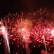 Fireworks in the black sky — Stock Photo #21318529