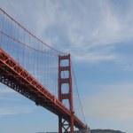 Golden Gate Bridge cruise over the bay in San Francisco — Stock Photo