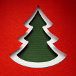 Christmas paper background texture, papercraft theme — Stok fotoğraf