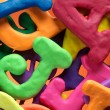 Plasticine characters - Stockfoto